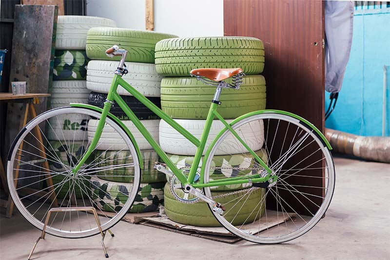 Las bicicletas salen de los trasteros